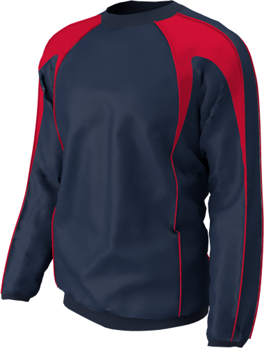 RugBee TRAINING TOP NAVY/RED