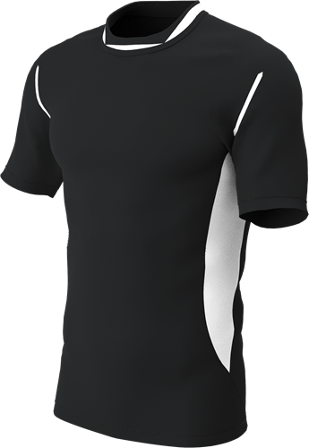 RugBee PRO TRAINING TEE BLACK/WHITE Medium
