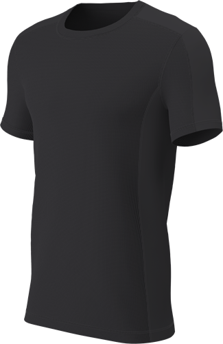 RugBee TECH TEE CREW NECK BLACK YOUTH Large