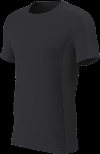 RugBee TECH TEE CREW NECK BLACK YOUTH XL