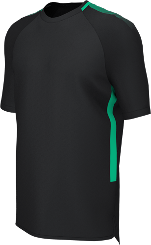 EDGE PRO TRAINING TEE BLACK/EMERALD