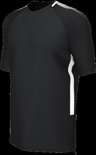 RugBee EDGE PRO TRAINING TEE BLACK/WHITE XL