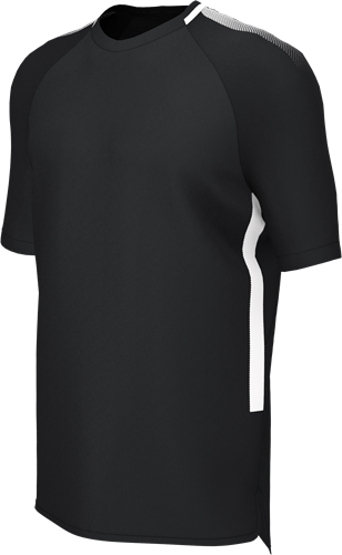 RugBee EDGE PRO TRAINING TEE BLACK/WHITE YOUTH XL