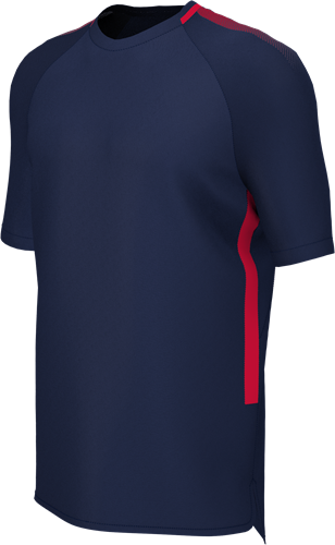 EDGE PRO TRAINING TEE NAVY/RED