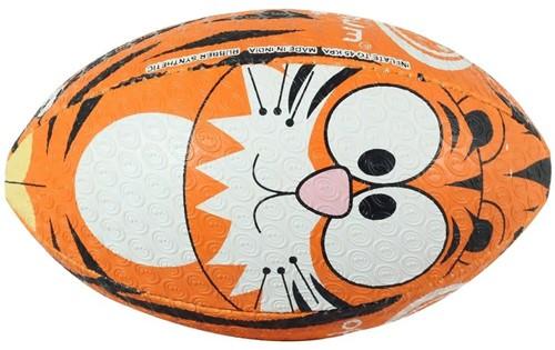 Optimum rugbybal Tijger - maat midi 24cm