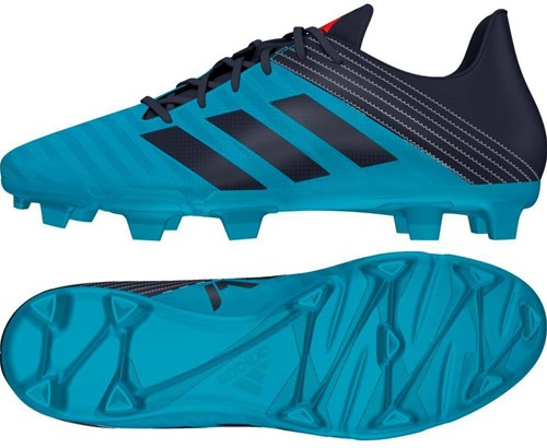Adidas Malice FG blades bestel 1 maat groter dan normaal  blauw - 43 1/3