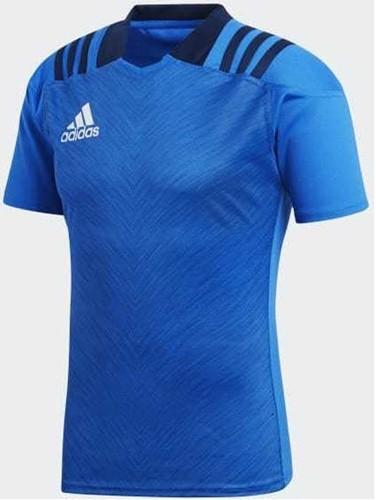 Adidas Rugbyshirt training blauw