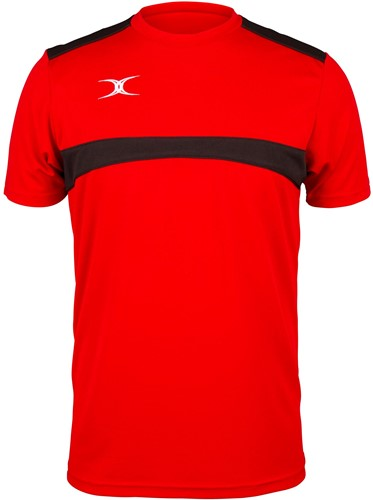 Gilbert TEE PHOTON RED/BLACK 3XL
