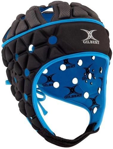 Gilbert Headguard Air Black/Blue M = maat 57 cm