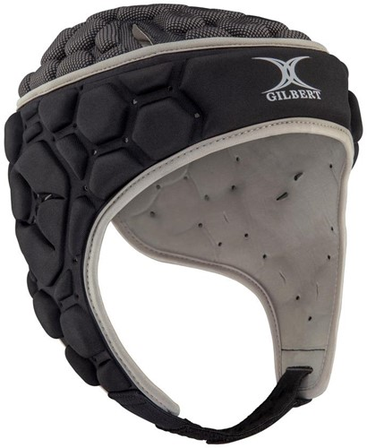 Gilbert scrumcap Falcon 200 Blk/Sil M = 57 cm