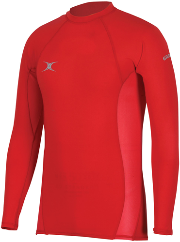 Gilbert Baselayer thermoshirt Atomic Red 2Xs