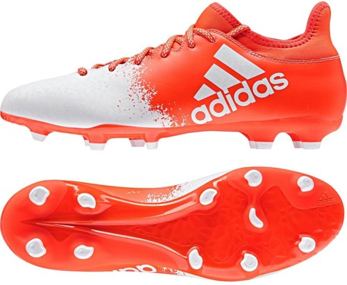 Adidas X16.3 FG W  Rood/wit - Maa7 43 1/3, 9