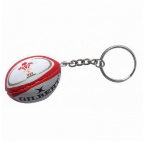 Rugbybal sleutelhanger Wales