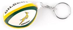 Gilbert rugbybal sleutelhanger South Africa