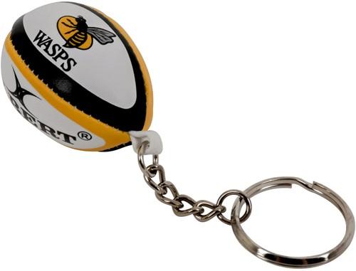 Gilbert rugbybal sleutelhanger WASPS