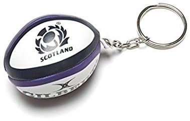 Rugbybal sleutelhanger Schotland