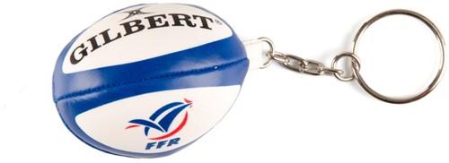 Rugbybal sleutelhanger Frankrijk