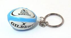 Gilbert rugbybal sleutelhanger Glasgow