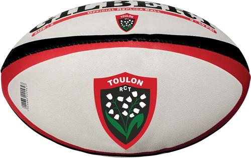 Gilbert rugbybal REP TOULON - Mini 15cm