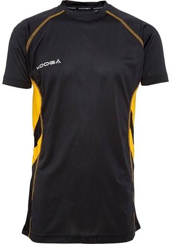 Kooga Rugby Elite Tech T-Shirt div.kleuren  Zwart - maat 110