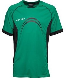 Kooga Elite Panel T-Shirt  Groen - maat 110