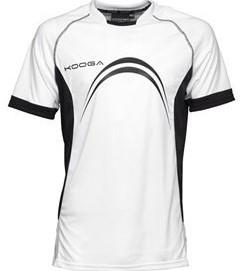 Kooga Elite Panel T-Shirt  Wit - XXL