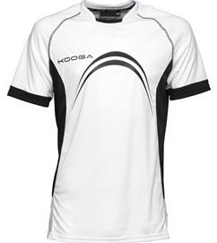 Kooga Elite Panel T-Shirt  Wit - YTH