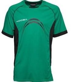 Kooga Rugby T shirt Elite Panel  Groen - LGB