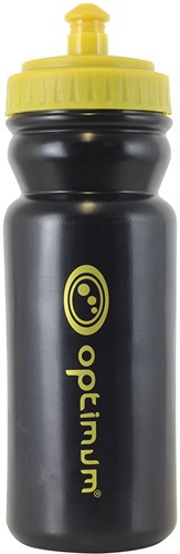 Optimum drinkfles zwart / goud- 500 ml-1