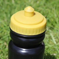 Optimum drinkfles zwart / goud 500 ml-2