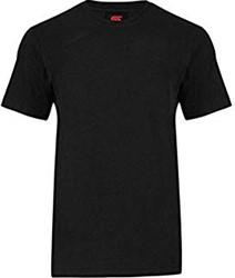 CANTERBURY CLUB S/S  PLAINT-SHIRT - XL - BLACK