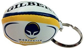 Gilbert rugbybal sleutelhanger WORCESTER