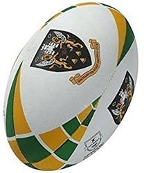 Gilbert rugbybal Northampton Saints  Groen - maat 5