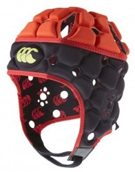 CANTERBURY VENTILATOR HEADGUARD - XL - PHANTOM/SCARLET