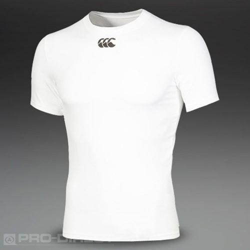 Canterbury Thermoshirt korte mouw HOT  Wit - XS
