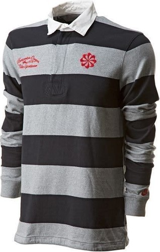 nike Old School rugby Shirt  Grijs - M
