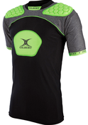 Gilbert schouderbescherming / shoulderpads Atomic V3 zwart/groen