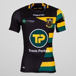 Northampton Saints Cup S/S Authentic Test Rugby Shirt