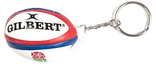 Rugbybal sleutelhanger Engeland