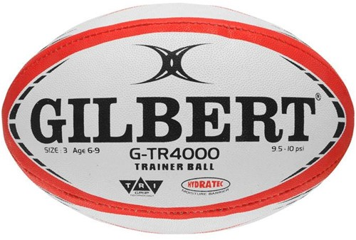 Rugbybal training G-Tr4000 Rood maat 3