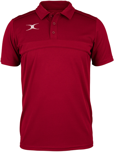 Gilbert POLO PHOTON MAROON 7-8