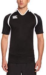 Canterbury Rugbyshirt Challenge  Zwart/wit - S