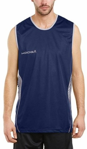 Kooga rugby sevens shirt Muscle Vest  Blauw - M