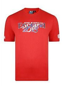 Canterbury T-shirt World Cup 2015 kids  Rood - 164