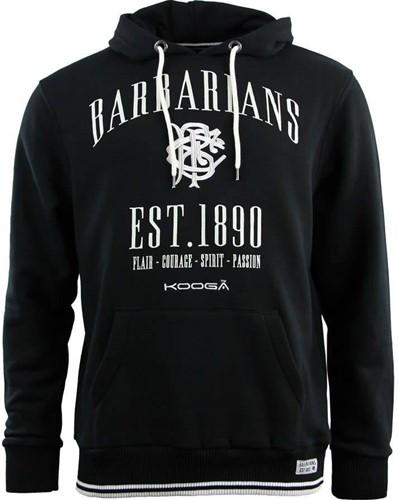 Kooga Barbarians Spirit Hoody  Zwart - M