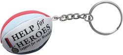 Gilbert rugbybal sleutelhanger Help4Heroes