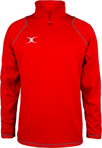 Gilbert TOP QUEST 2 KORTE RITS FLEECE ROOD
