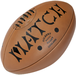 Gilbert rugbybal Leather Heritage - maat 5