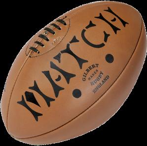 Gilbert rugbybal leer Heritage maat 5