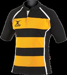 Gilbert rugbyshirt Xact II Hoop
